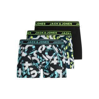 Lot de 3 boxers enfant Jack & Jones Logo Print