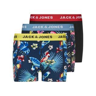 Lot de 3 boxers enfant Jack & Jones Flower Bird
