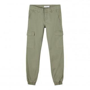 Pantalon cargo fille Name it Sea