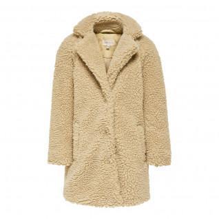 Veste fille Only kids New aurelia sherpaa coat
