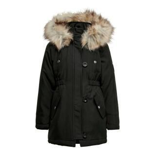 Parka fille Only kids koniris fur