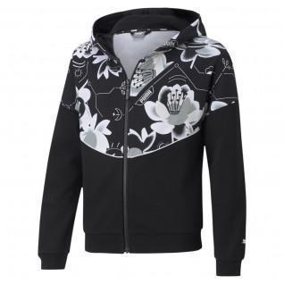 Sweatshirt fille Puma Alpha Full-Zip TR G