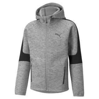 Sweatshirt Full-zip enfant Puma Evostripe