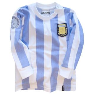 Maillot domicile manches longues baby Argentine