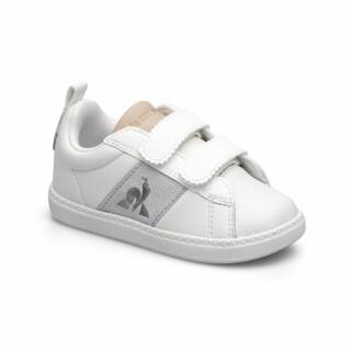 Chaussures bébé fille Le Coq Sportif courtclassic