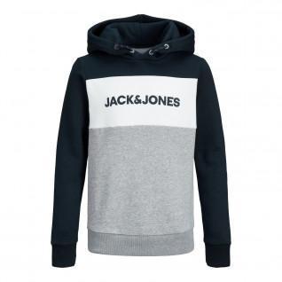 Sweatshirt enfant Jack & Jones JJelogo blocking