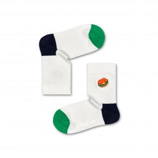 Chaussettes enfant Happy Socks Hamburger Embroidery