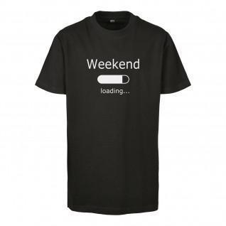 T-shirt enfant Urban Classics weekend loading 2.0