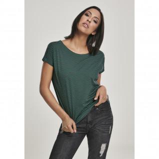 T-shirt femme Urban Classic yarn baby Stripe