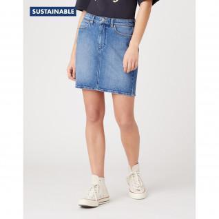 Jupe en Jeans femme Wrangler Mid Length Sandy